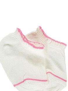 Kurze Socken ecru RYCORALY / 19E4BFT1SOB001