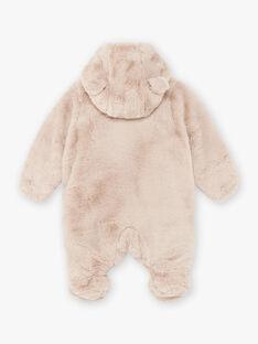 Beige Pilot in Kunstpelz Teddybär Geburt gemischt BOURBEAU / 21H0CMK1PIL806