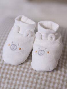 Gemischte Geburt weiße Hausschuhe BOCYRIL / 21H0AM41CHP001