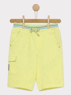 Gelbe Bermuda-Shorts RUAGOLAGE / 19E3PGP2BERA007