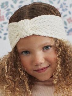 Gestricktes Stirnband mit Schleife für Mädchen BLOZIZETTE / 21H4PFE1BAN001