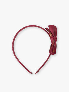 Strawberry rose HEADBAND VUSERTETTE / 20H4PFH1TET308