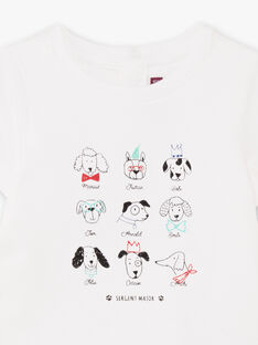 Baby Boy Kurzarm-T-Shirt Body mit ausgefallenem Druck BABEAN / 21H1BG11BOD001