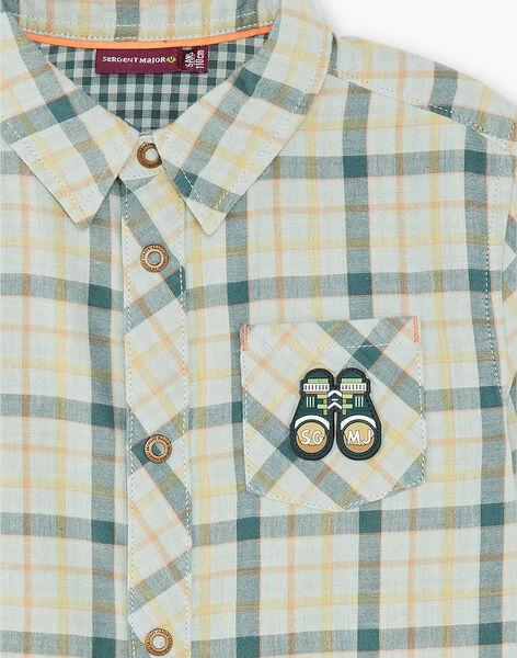 Hemd eines Jungen ZACLAGE / 21E3PG71CHMG619