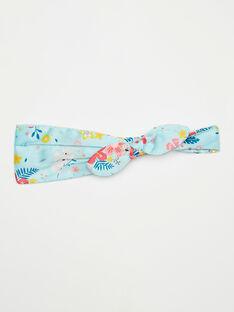 Stirnband mit Blumendruck für kleine Mädchen TEUNOUETTE / 20E4PFL4TETC242