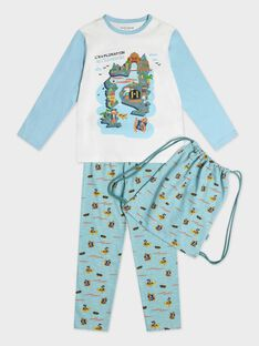 Pyjama für kleine Jungen, blau TEPIRAGE / 20E5PG76PYJ001