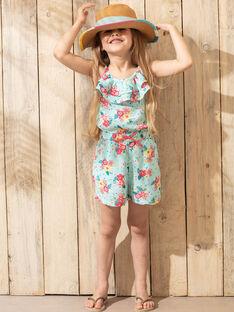 Kurze Latzhose Mädchen Sergent Major, aus unserer originellen Kollektion, die die Phantasie von Kindern im Alter von 0 bis 11 Jahren anregen soll. TEULOETTE / 20E2PFX1SACC242