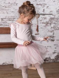 Mädchen-Bodysuit rosa BRODYETTE / 21H2PF31BDSD310