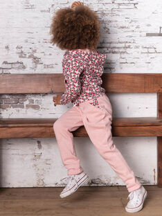 Rosa Jogginghose Kind Mädchen BRODETTE / 21H2PF31JGBD314