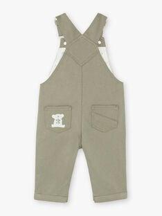 Grauer Overall Baby Junge ZAAKON / 21E1BG71SAL604