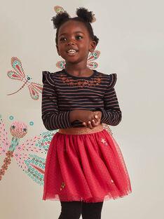 Baby Mädchen rosa Tüllrock mit Sternen BRIDOUETTE / 21H2PFM1JUP308