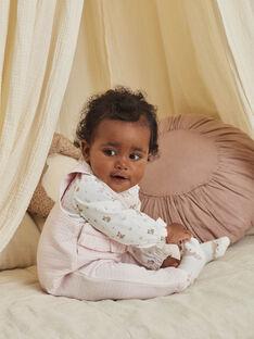 Baby-Mädchen-Latzhose, Bodys und Socken-Set mit ausgefallenem Druck BOERINA / 21H0CFK1ENS301