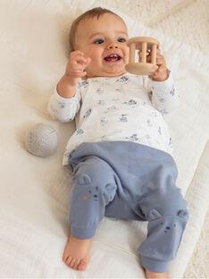 Baby-Jungen-Body, Hose und Socken-Set BOSTON / 21H0CG42ENS216