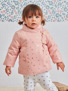 Baby Mädchen rosa Regenmantel BIPALOMA / 21H1BFD1PAR303