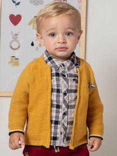 Baby Boy Senfgelbe Weste BAFAUST / 21H1BG51GILB114