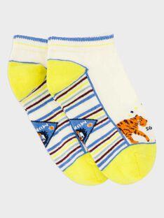 Kurze Socken weiß ROCHOSAGE / 19E4PGM1SOB632