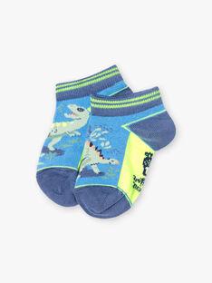 Baby Junge zweifarbige Dinosaurier Socken TUVROUAGE / 20E4PGX1SOBC232