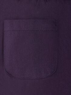 Purple PANTS VLIJOETTE / 20H2PFS1PAN718
