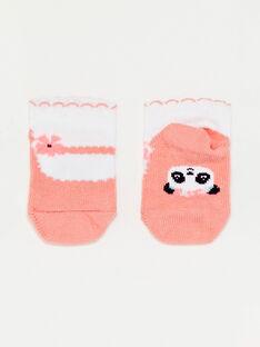 Baby-Socken für Mädchen TAQASSY / 20E4BFP1SOB001