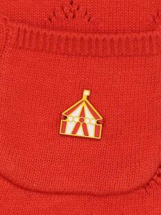 Rote Strickjacke RAFABOU / 19E1BFC2CARF505
