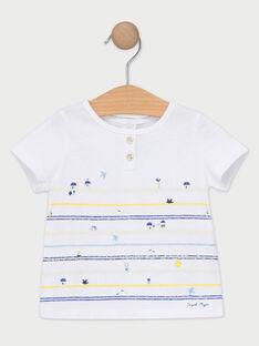 Ecrufarbenes kurzärmeliges T-Shirt TANIOBE / 20E1BGO1TMC001