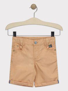 Bermuda-Shorts orange Jungen TUVOAGE / 20E3PGX1BER406