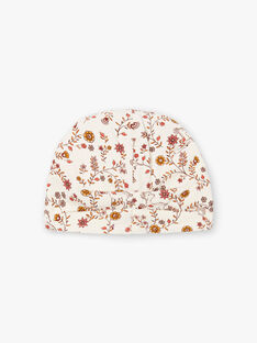 Baby Mädchen ecru floral print Hut BINANA / 21H4BFC4BON001
