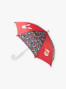 Baby-Mädchen-Regenschirm mit Blumen- und Tiermotiven BIPLUIETTE / 21H4PF51PUI050