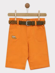 Orange Bermuda-Shorts RUXOLAGE / 19E3PGQ2BER400