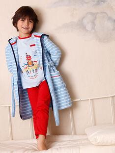 Blauer Bademantel für Kinder Junge ZEPEIGNAGE / 21E5PG11PEIC218