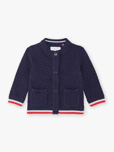 Baby Junge navy blau Weste ZAOUSMAN / 21E1BGT2GILC214
