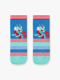 Blaue und drachenrote Socken ZAFRIAGE / 21E4PGJ1SOQG621