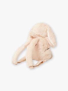 Beige Kaninchen Rucksack BAERIKA / 21H4BF51BESA011