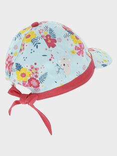 Bedruckte Mütze für kleine Mädchen TEUDETTE / 20E4PFX1CHAC242