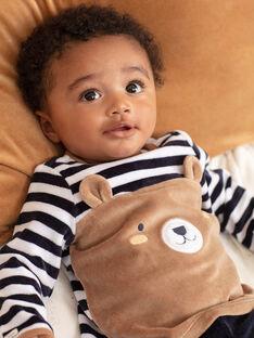 Baby Boy's langärmeliges Teddybär-Pyjama-Set BEAUGUST / 21H5BG61PYJ715