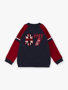 Teddy in Marineblau und Rot für Jungen BEDRAGE / 21H3PG51GIL070