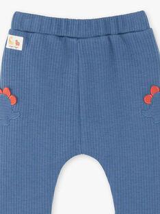 Baby Junge Enzianblau Hose ZAEDDY / 21E1BGB1PANC230