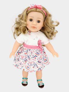 Puppe Adèle  und ihr Ankleidekasten TADELE / 20EZEND1POED322