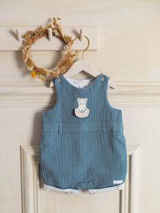 Kurze blaue Latzhose Baby Junge ZOLOUIS / 21E0CGY1CBL714