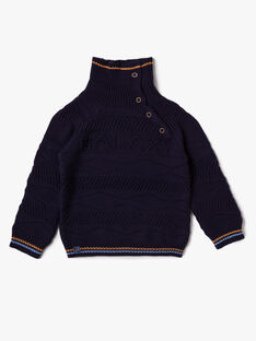 Navy PULLOVER VOBAGE / 20H3PGY1PUL713