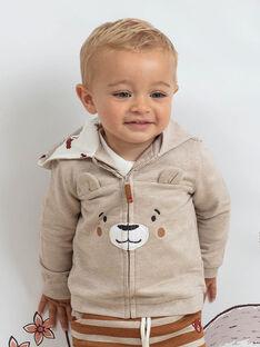Baby Junge Grau Hoodie BALEO / 21H1BGJ1JGH811