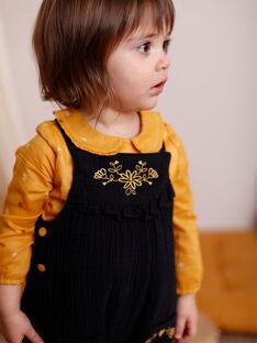 Schwarzer Overall Baby Mädchen ZADOLLY / 21E1BF91SAL090