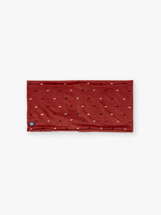Red SNOOD ZEFOULAGE / 21E4PGB1SNO506