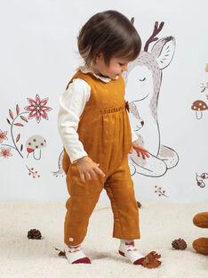 Baby Mädchen Kamel Jumpsuit mit ausgefallenem Druck BAINOU / 21H1BFJ1SAL804