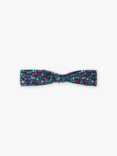 Blaues Enten-Stirnband für Mädchen mit Blumendruck BOMAETTE / 21H4PF91BAN714