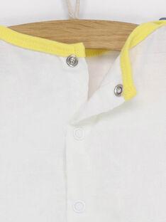 Kurzärmeliges T-Shirt ecru RAEDEN / 19E1BGC1TMC001