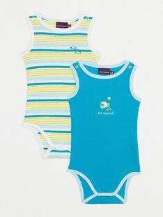 Set mit 2 Baby-Bodys Jungen TIYAEL / 20E1BGM1LDBB113