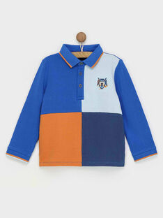 Blaues Polohemd RABIAGE / 19E3PG41POL217