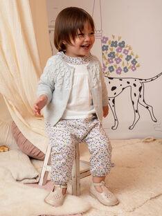 Baby Mädchen Bluse mit Blumenkragen BACLAIRE / 21H1BF21CHE320