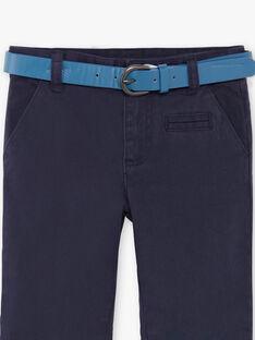 Marineblaue Hosen für Jungen ZECROAGE / 21E3PGB3PAN070